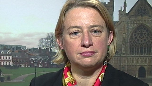 Green Party leader, Natalie Bennett