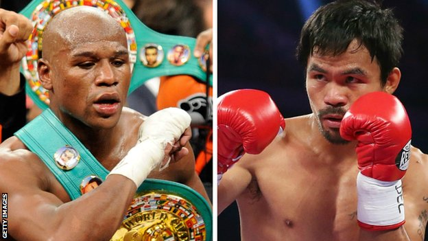 BBC Sport - Floyd Mayweather & Manny Pacquiao: No deal signed yet