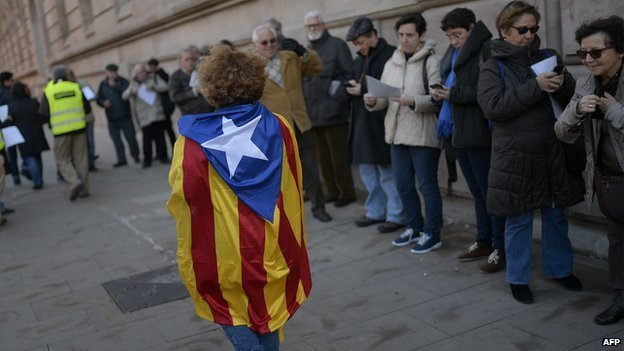 Catalan voters, 9 November 2014