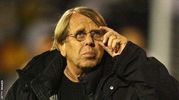 Congo coach Claude Le Roy