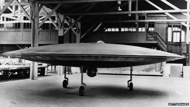 Model of Couzinet 'flying saucer' whatever happened to the future? Whatever happened to the future?  80292320 3318538