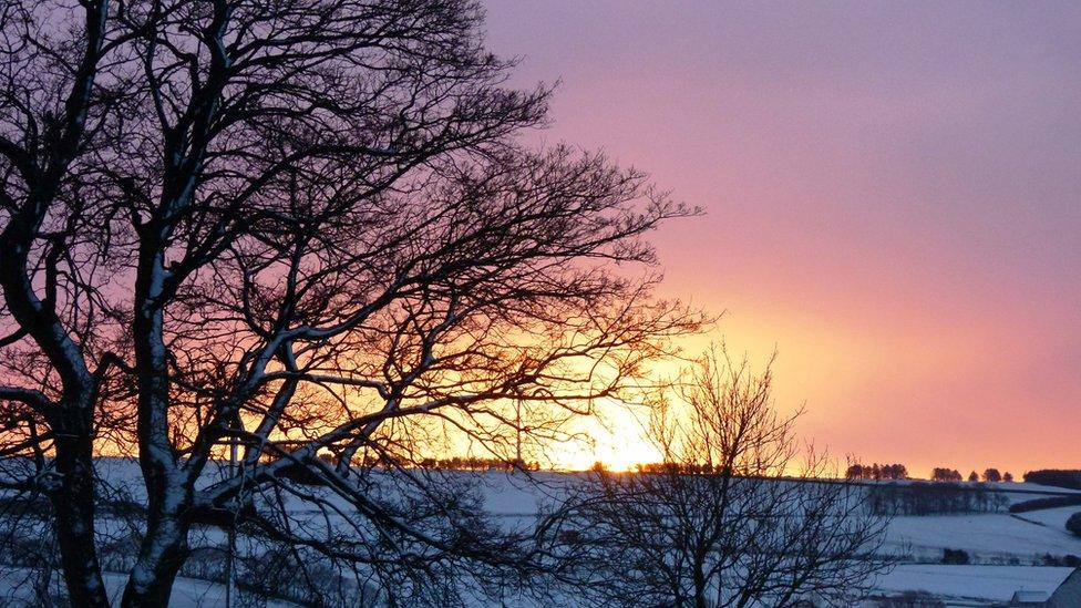 Sunrise over Garmond