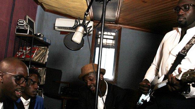 Sauti Sol Photo: Manuel Toledo, BBC Africa