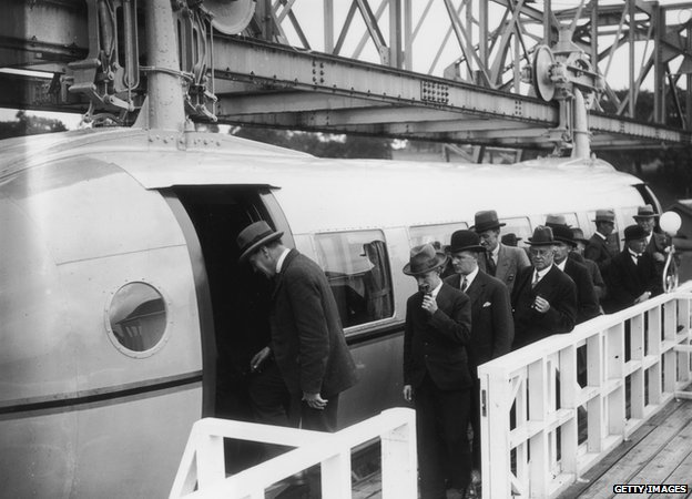 Bennie Railplane whatever happened to the future? Whatever happened to the future?  80300381 3226058