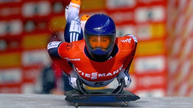 Great Britain's Lizzy Yarnold