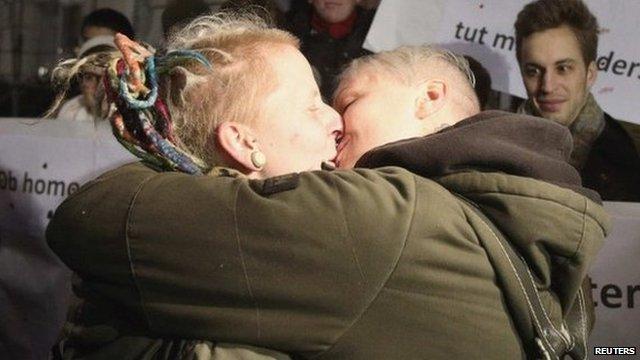 Two Hot Latino Gays Love Kissing