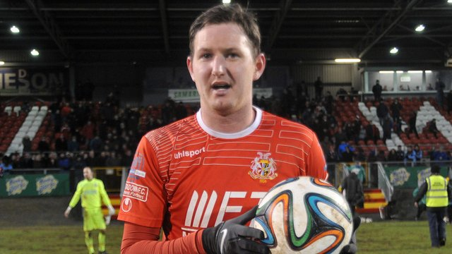 Gary Twigg scored a hat-trick in the 5-5 thriller between Portadown and Ballymena at Shamrock Park