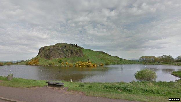 Dunsapie Loch on Arthur's Seat