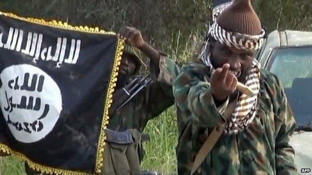 Screengrab of Boko Haram leader Abubakar Shekau taken from a video released by the group in October 2014