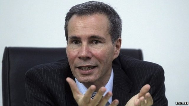 Alberto Nisman at his office in Buenos Aires on 29 May, 2013