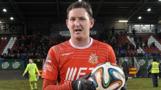 Gary Twigg scored a hat-trick in the 5-5 draw between Portadown and Ballymena