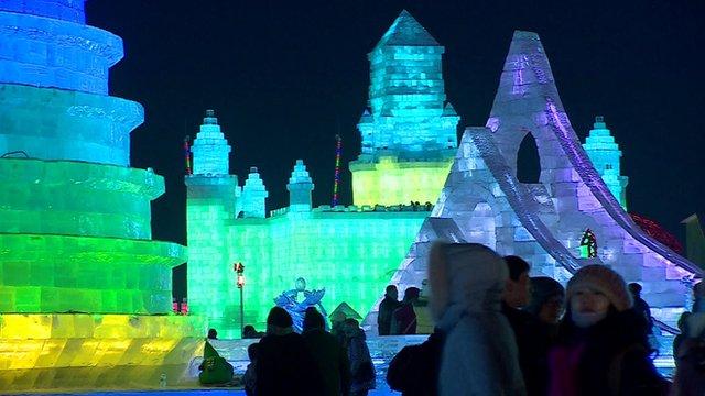 Harbin's Ice Festival