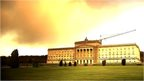 Stormont government building