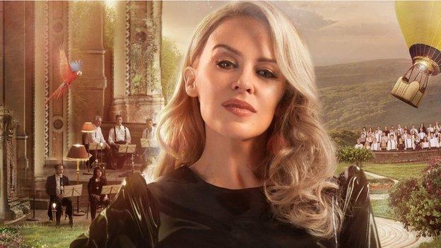 Mae un o ganeuon newydd Geraint wedi ei hysbrydoli gan Kylie Minogue