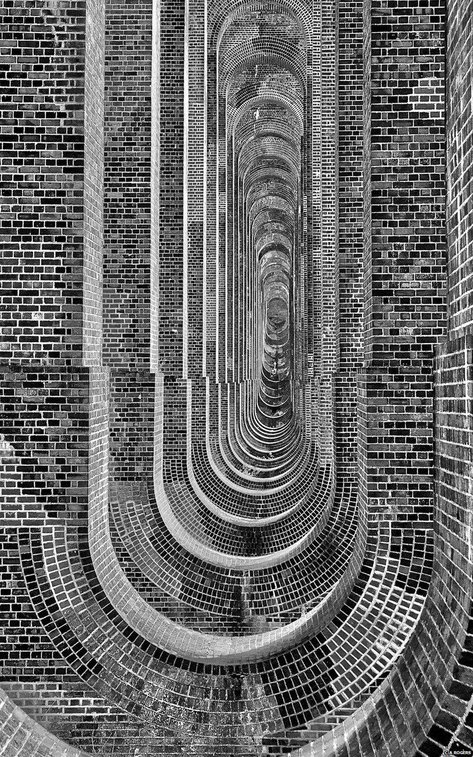 Brick viaduct