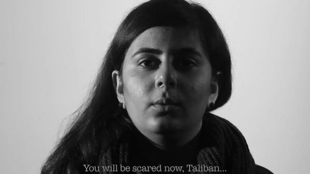 You will be scared now, Taliban