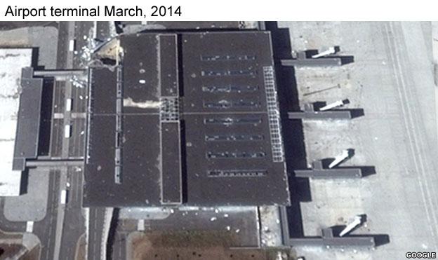 Terminal building 2014
