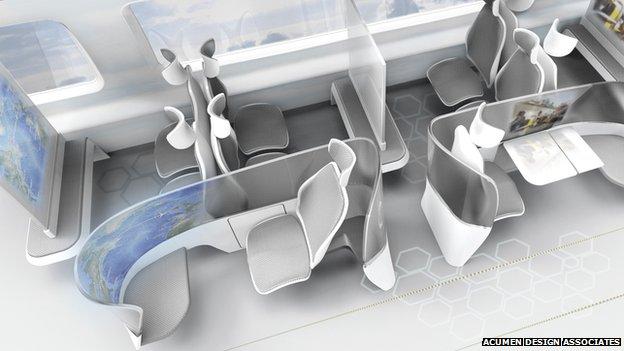 Artist's impression of future cabin design