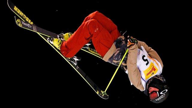 American Kyle Smaine wins ski halfpipe gold