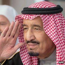 Then Crown Prince Salman bin Abdulaziz Al-Saud, 6 January 2015