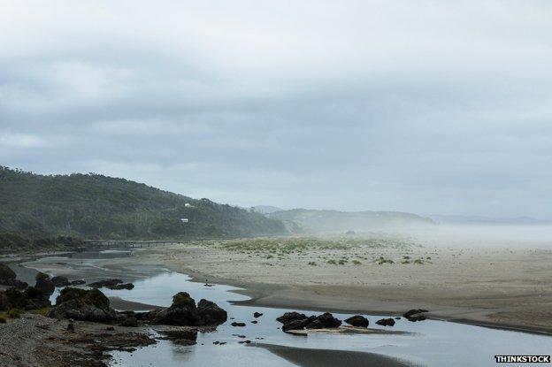 Beach on Chiloe