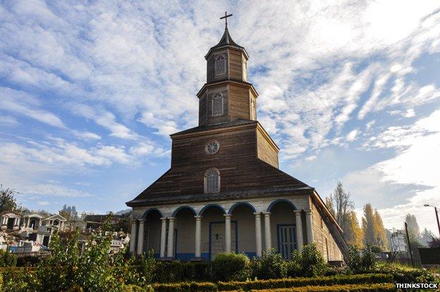 Nercon church, Chiloe