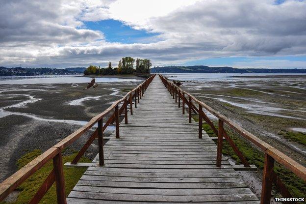 Dock in Chiloe