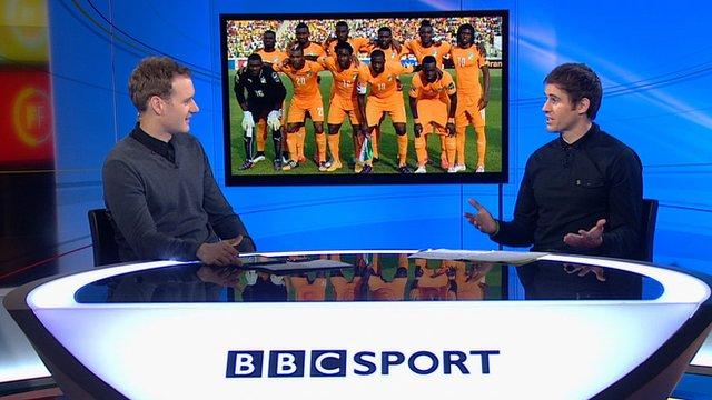 Dan Walker and Kevin Kilbane on Football Focus
