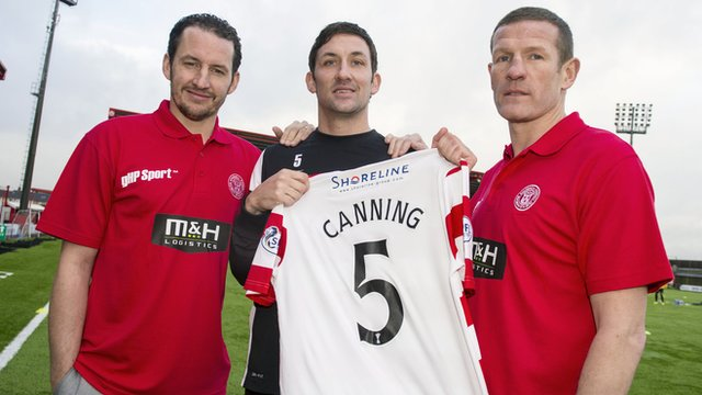 Guillaume Beuzelin, Martin Canning and Chris Swailes