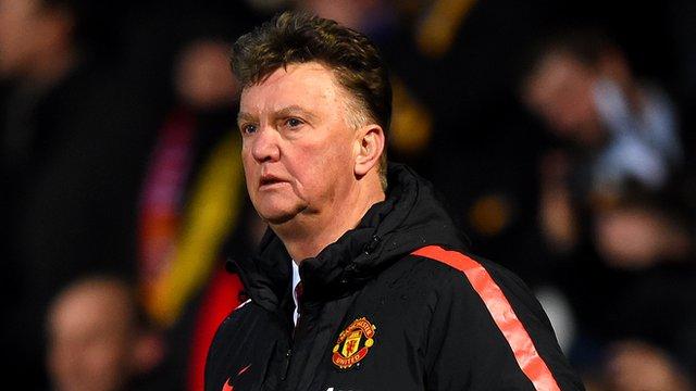 FA Cup: Louis van Gaal says everything was against Man Utd