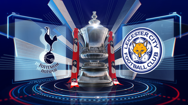 A stoppage-time volley by Jeffrey Schlupp gave Leicester a thrilling FA Cup victory at Tottenham