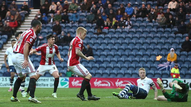 FA Cup: Sheffield United equalise against Preston