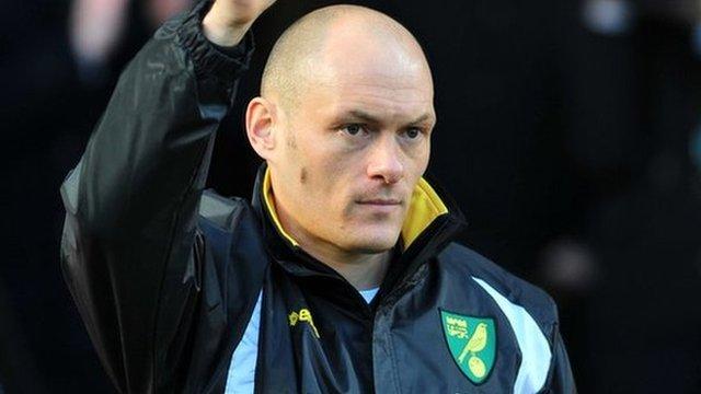 Norwich manager Alex Neil