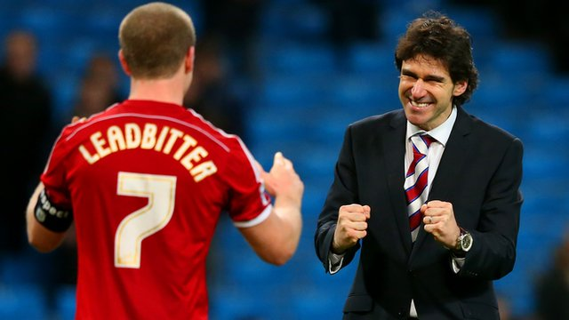 Aitor Karanka is proud after his side's FA Cup win.