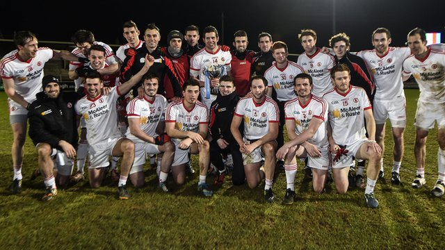 Tyrone won the McKenna Cup for a fourth year in a row