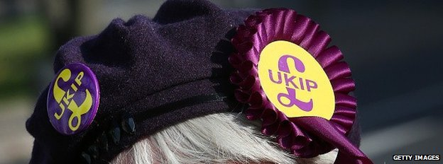 UKIP supporter in Clacton