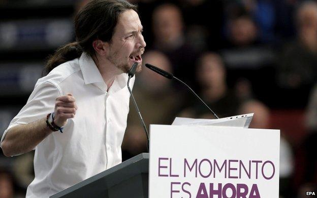 Podemos General Secretary Pablo Iglesias