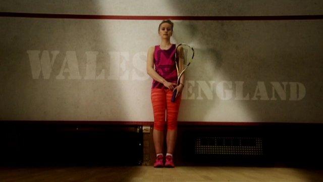 Squash player Emily Whitlock