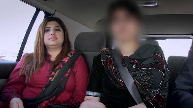 British woman (right) who says she was forced to marry against her will