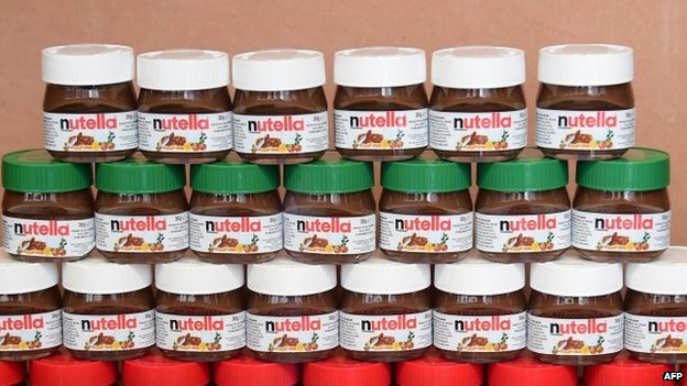 Jars of Nutella (May 2014)