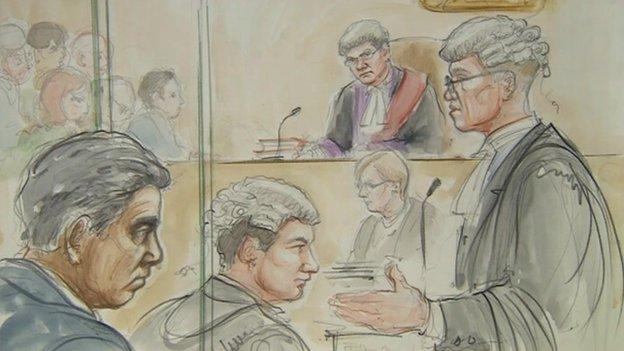 Mohammed Ashrafi in court
