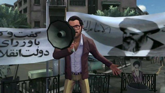 Screen grab from 1979 Revolution
