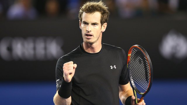 Andy Murray wins second set 6-0
