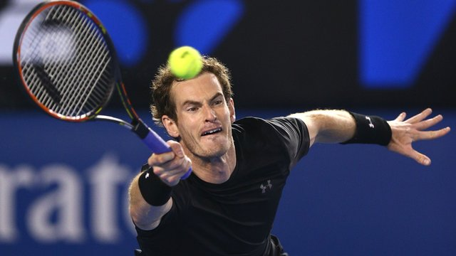 Andy Murray ahead after clinching third set