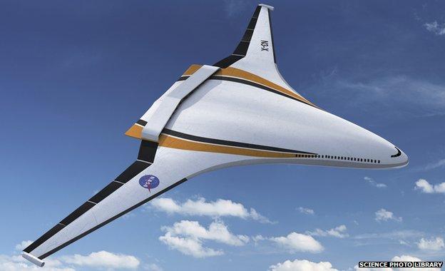 Nasa NX-3 concept plane