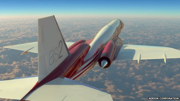 Aerion as2 business jet