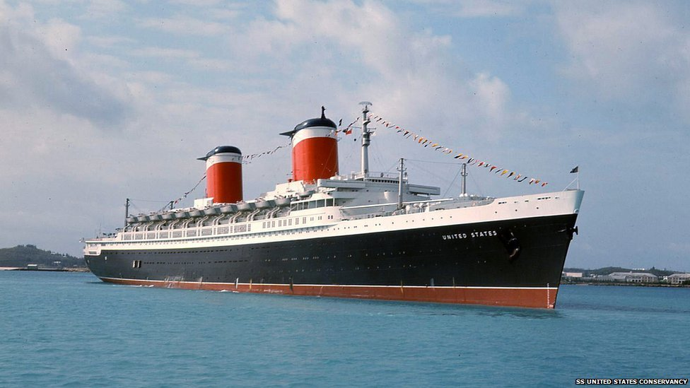 The SS United States in service
