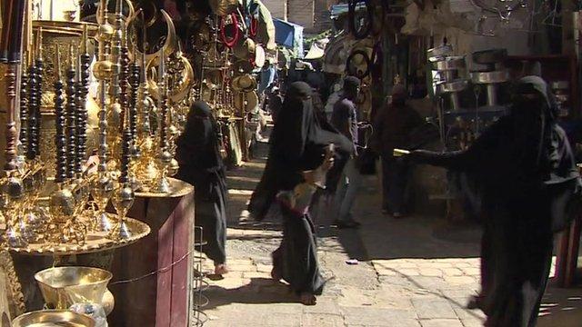 Market in Sanaa