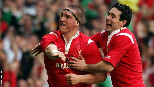 Gethin Jenkins v Ireland 2005