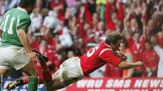 Kevin Morgan v Ireland 2005